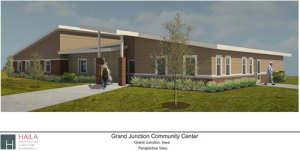 The proposed community center for Grand Junction.
