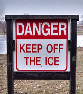 Keep-off-ice