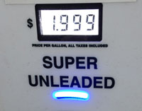 Motorists have enjoyed a drop in gas prices before Christmas.