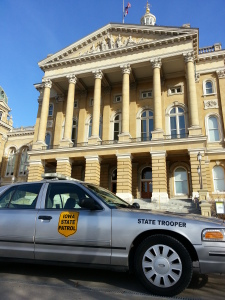 state patrol car