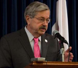 Governor Terry Branstad.