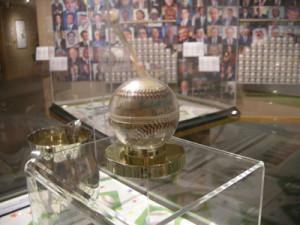 Baseball from former President Herbert Hoover's collection.