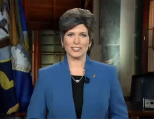 Iowa Senator Joni Ernst. (file photo)