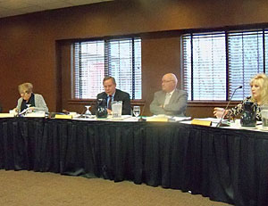 The Iowa Racing and Gaming Commission met in Johnston.