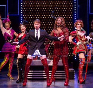 """Steven Booth stars in """"Kinky Boots."""""""