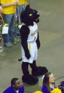 UNI mascot.