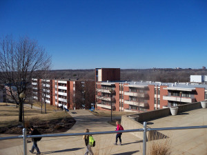 Housing on the AIB campus.