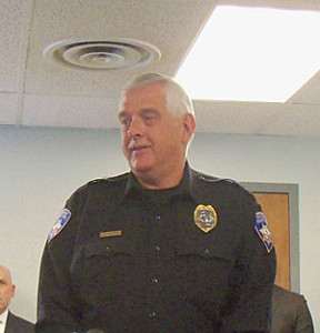 Evansdale Police Chief Kent Smock.