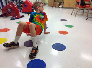 Activities that make kids think and move at the same time, like crab walking while solving math problems, can improve cognitive ability in children, according to a study by Iowa State University kinesiology professors.