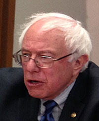 Vermont Senator Bernie Sanders. (file photo)
