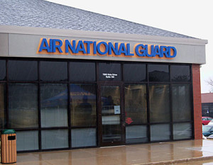 New Iowa Air National Guard recruiting office.
