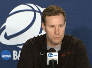 Fred Hoiberg answers questions after NCAA loss.