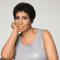 Aretha Franklin photo from her Facebook page.