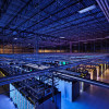 The inside of Google's data center in Council Bluffs.