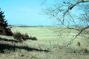 Iowa fields saw little precipitation in March.