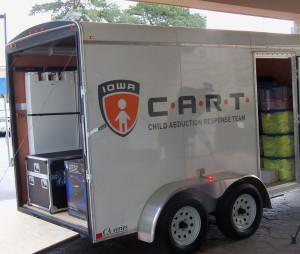 CART trailer.