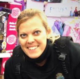 Officer  Kerrie Orozco was shot to death while on duty Wednesday.