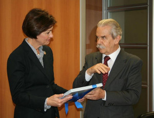 Lt. Governor Kim Reynolds and Sao Paulo State Secretary of Energy, João Carlos Meirelles.