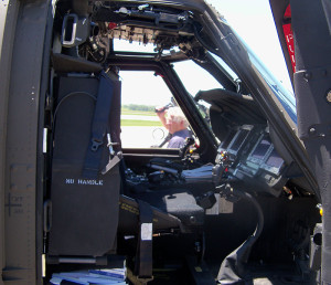 "The U-H-60 ""Mike"" model helicopters have high-tech controls."