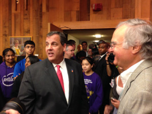 Chris Christie in Ames.