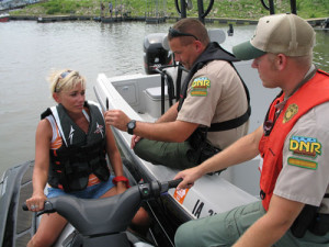 The DNR and other agencies will be out looking for drunken boaters this weekend.