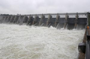 Gavins Point Dam.