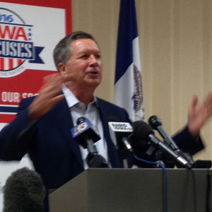 Ohio Governor John Kasich.
