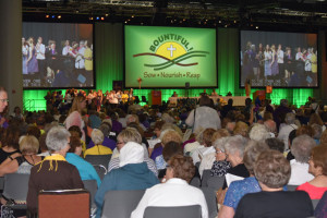 Members of the Lutheran Women's Missionary League of the Missouri Synod are meeting in Des Moines.