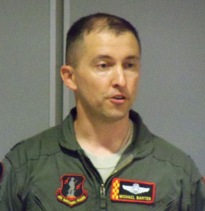 Lt. Colonel Michael Barten.