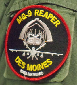Shoulder patch from the Des Moines unit.