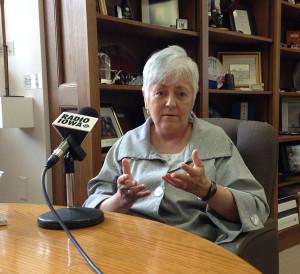 Retiring U-I President Sally Mason.