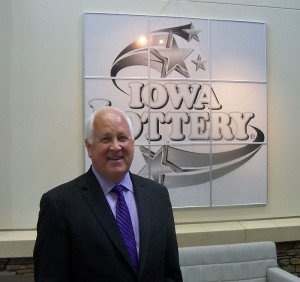 Lottery CEO Terry Rich.