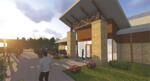 This is what the Indian Creek Nature Center's Amazing Space building will look like.