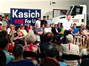 Republican candidate John Kasich