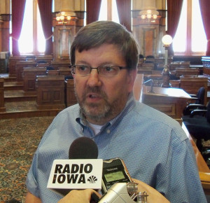House Speaker Craig Paulsen in a July meeting with reporters.