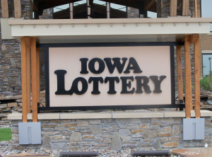 Lottery-sign
