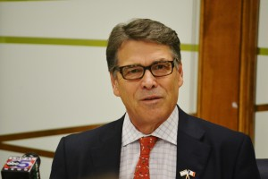 Rick Perry at Iowans for Israel event.