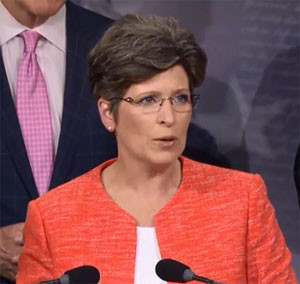 Senator Joni Ernst. (file photo)