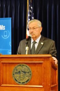 Governor Terry Branstad. (file photo)