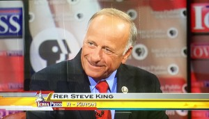 Steve King, from this week's edition of Iowa Press.