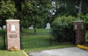 The gates of the ISU Cemetery from the university's web page.