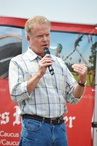 Jim Webb at the Iowa State Fair this year.