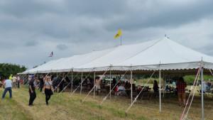 Tweedy-tent