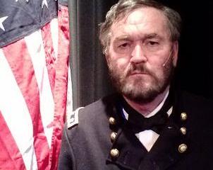 Pete Grady as President Grant