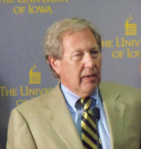 Bruce Harreld was named the new University of Iowa President.