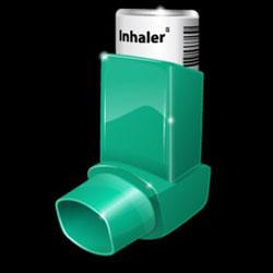 Asthma inhaler.