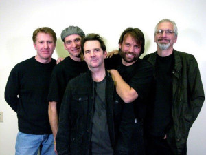 David Kachel (left) and members of the Sonny Humbucker Band.