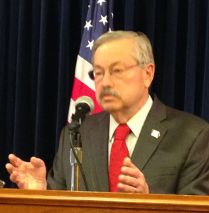 Governor Terry Branstad. (file photo)