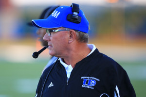 University of Dubuque football coach Stan Zweifel