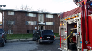 A fire at this Charles City apartment left one person dead.